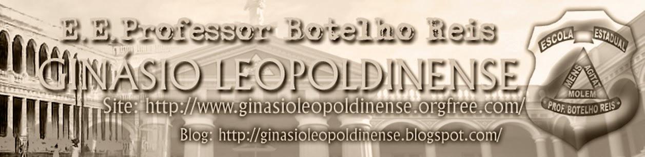 Escola Estadual Professor Botelho Reis - Ginásio Leopoldinense - Blog Oficial