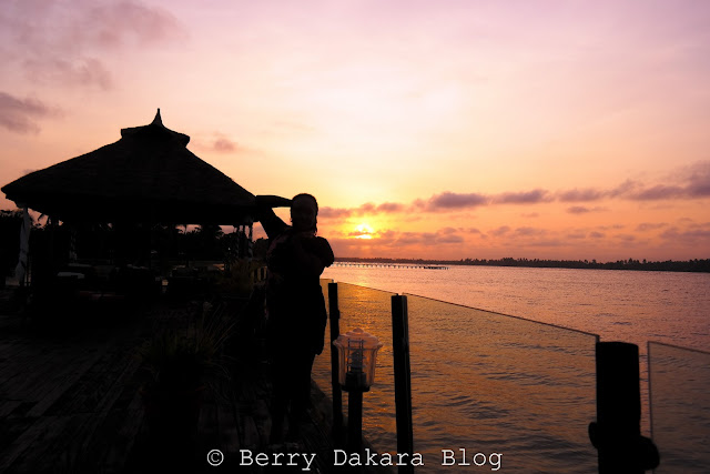 berry dakara, cakesiena, inagbe grand resort, inagbe, sunset, beautiful sunset