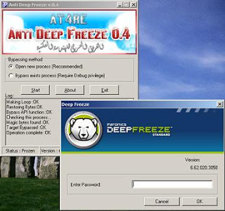 Free Software Anti Deep Freeze v.0.4