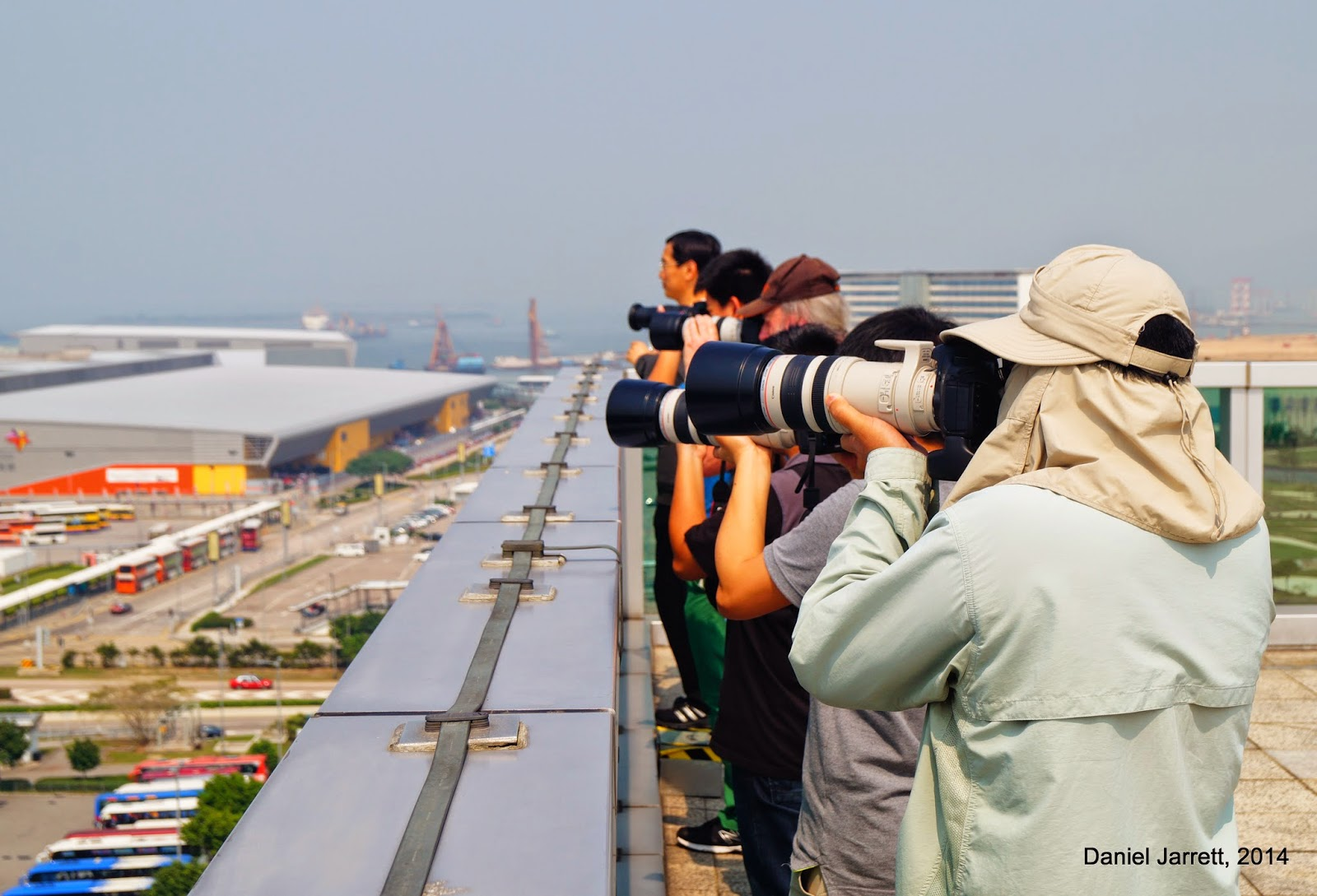 Hong Kong Airport Plane Spotters Chek Lap Kok