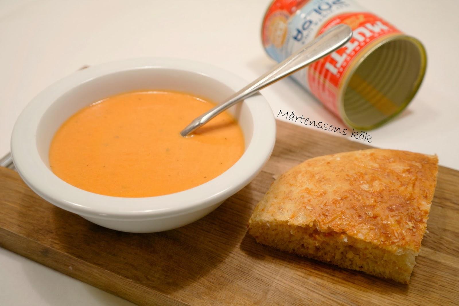ostbröd till soppa