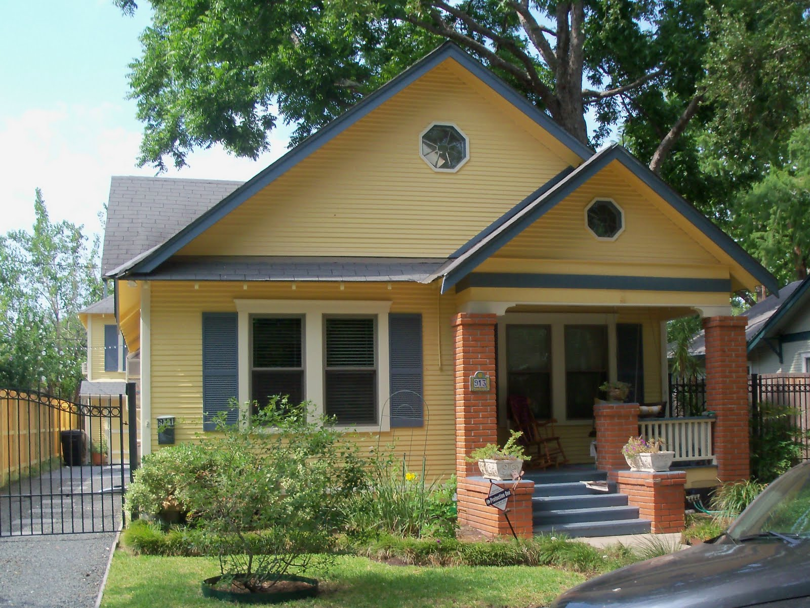 For The Home On Pinterest Yellow Houses Red Doors And