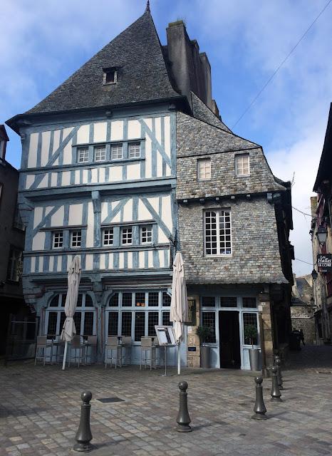 Dinan Bretania Francja 2015