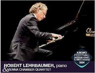 Piano concert van Wolfgang lehrbaumer met het Weens kamerorkest in Teulada