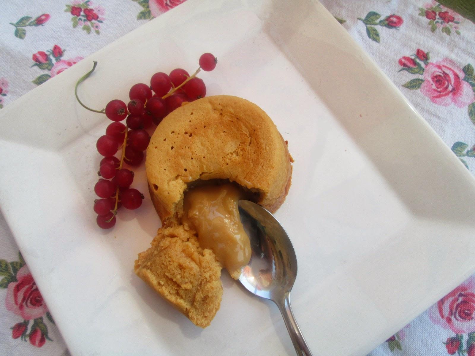 Molten Dulce De Leche Cakes Recipe — Dishmaps