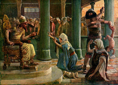 """The Wisdom of Solomon"" by James Tissot"