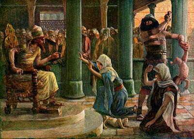 """The Wisdom of Solomon"" by James Tissot"