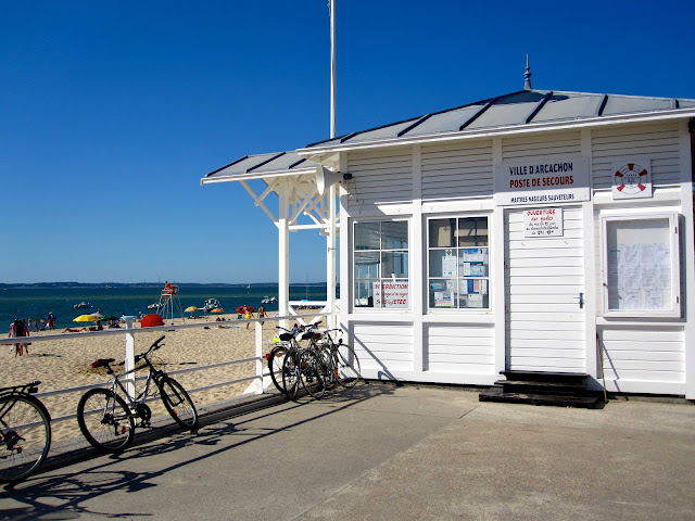 Arcachon, beach, plage, France