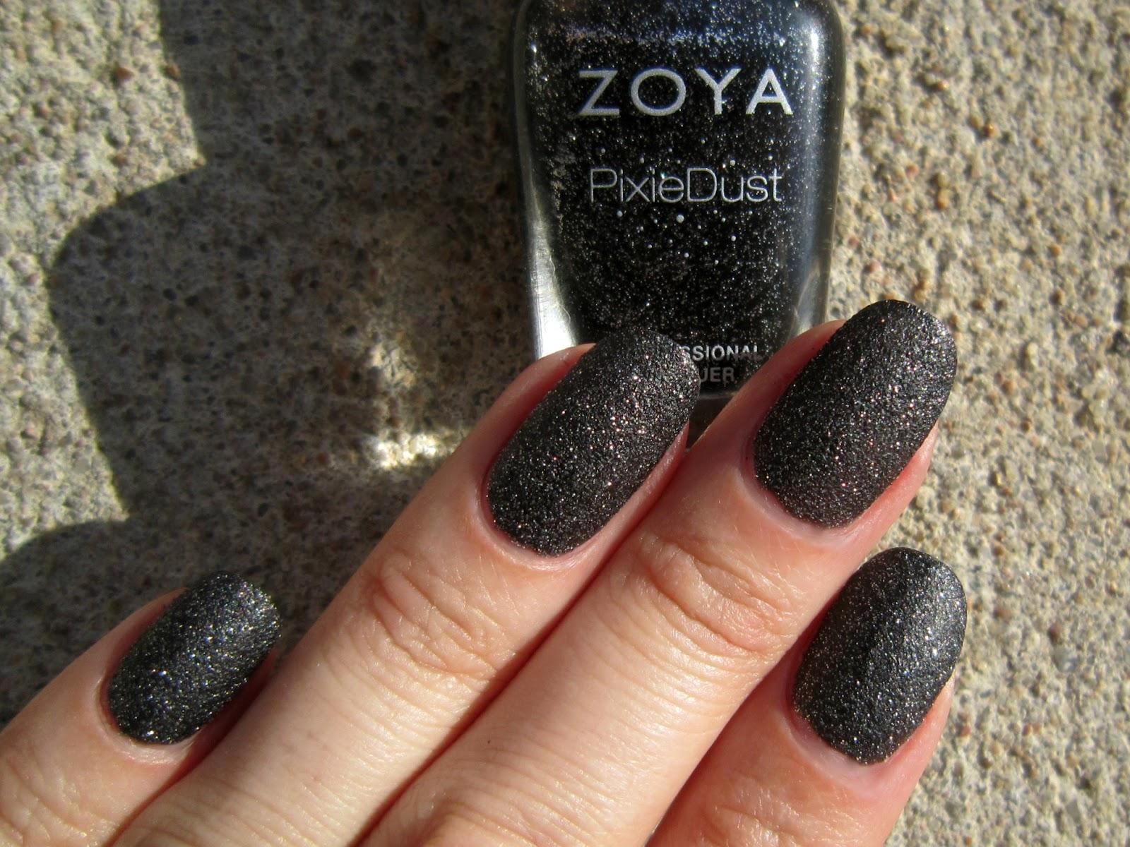 Zoya Pixie Dust Chyna Concrete and Nail Poli...