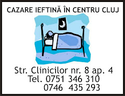 Cazare ieftina centru Cluj  35 RON / Click pe imagine pt. detalii