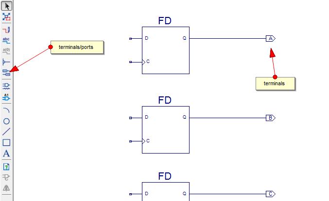 counter schematic design in xilinx