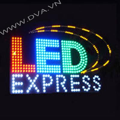 Làm bảng hiệu LED,