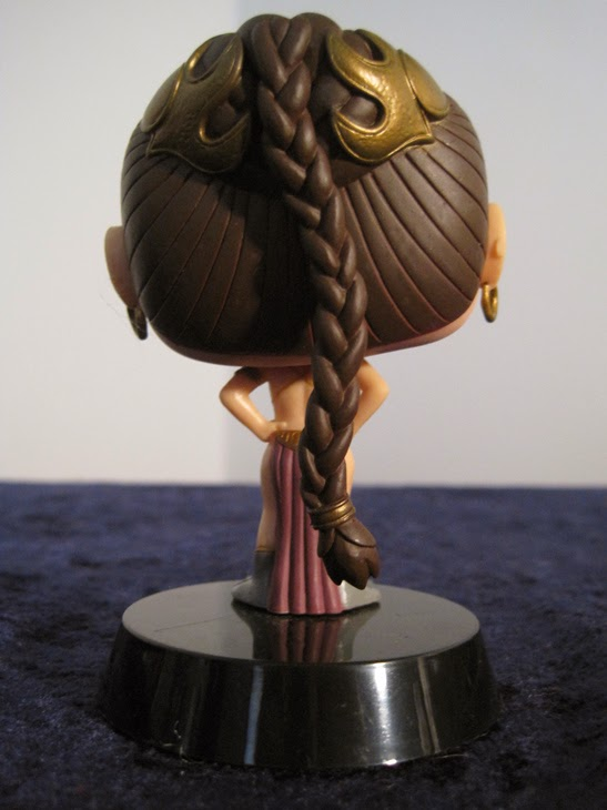 Funko Pop! Star Wars Slave Leia from behind.