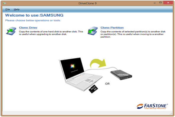 Drive Clone from FARSTONE: Powerful Utility to Clone Drive or Partition