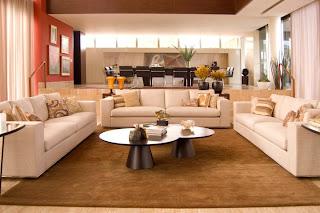A Ambientes decorados por Vênica Casa