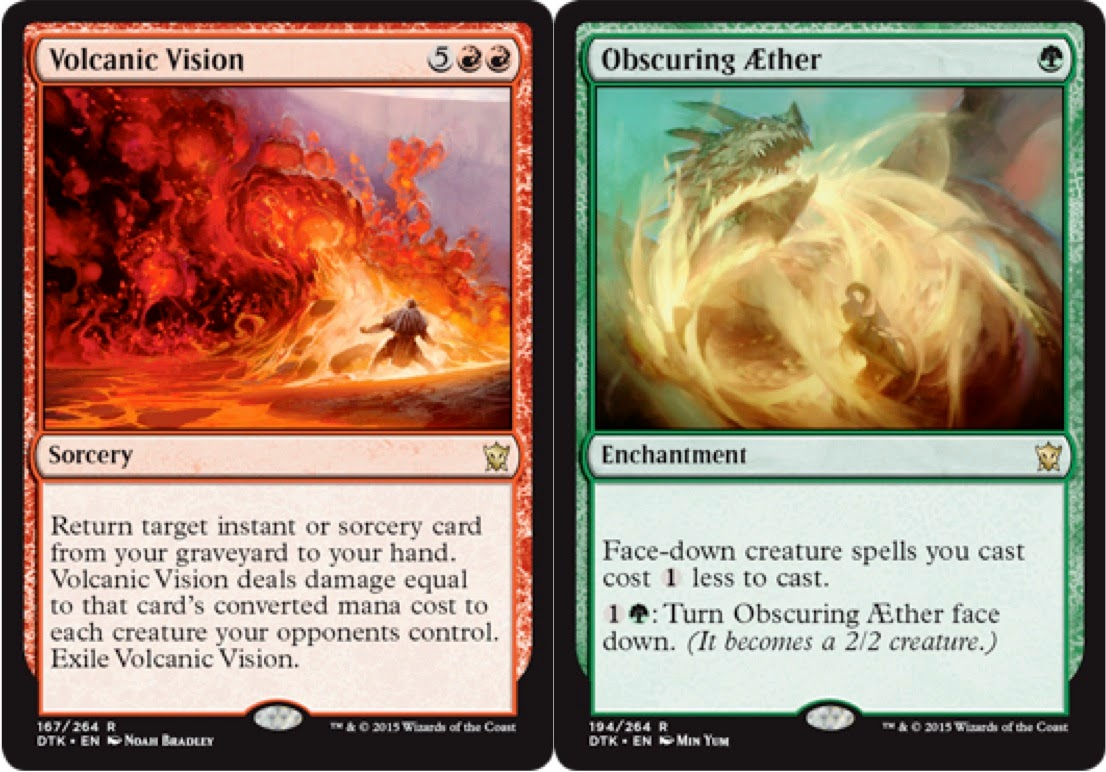 Volcanic Vision We Like This In Amander Build We Have But It Doesn't Make  Mtg Limited: How To Build A Sealed Deck