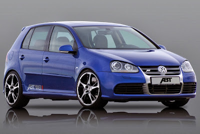 Blue 2011 VW Golf