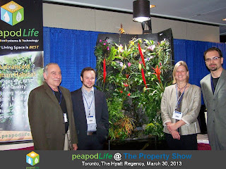 PeapodLife's Team at The Property Show, Toronto, 2013, photo by Olga Goubar
