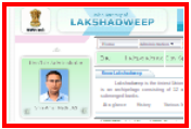 Lakshadweep official website