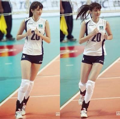 Foto Sabina Altynbekova Gadis Cantik Kazakhstan Pemain Voli