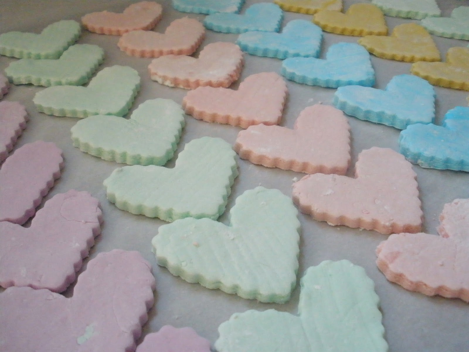 Homemade Candy Hearts | Harvest Moon by Hand
