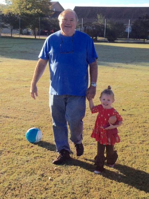 Papa & Syd - Soccering