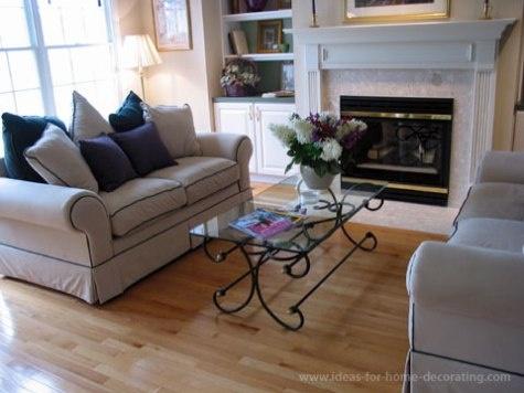 C mo arreglar los muebles en una peque a sala de estar - Oficios de ayer muebles ...