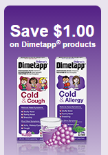 Dimetapp Cold & Cough coupon