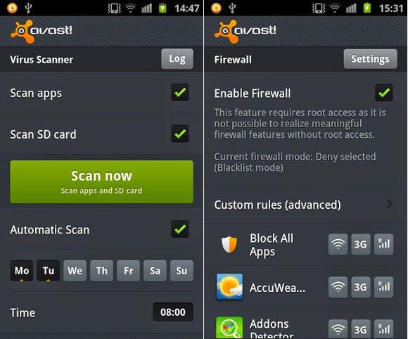 5 Senarai Teratas Antivirus untuk Android