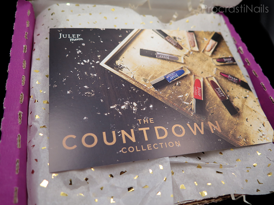 Unboxing of the Julep Maven December 2014 Countdown Collection