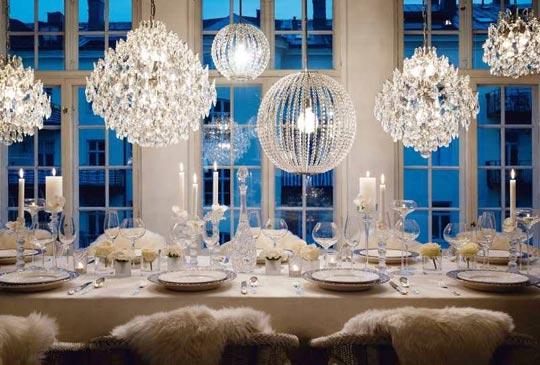 The All Man Wedding Winter Wedding Decoration Ideas
