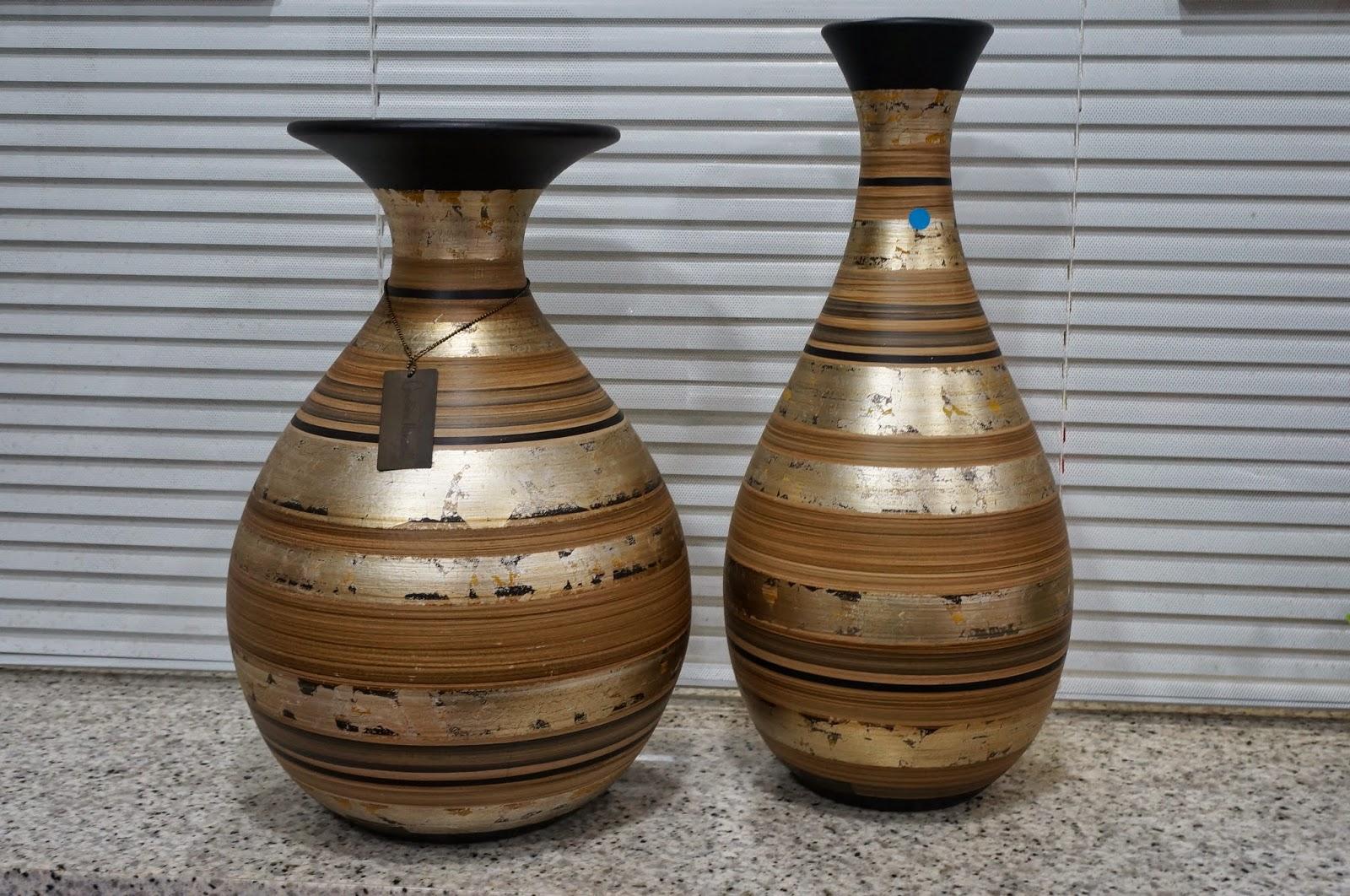 Vasos de Carolina Haveroth - loja Flor de Malagueta