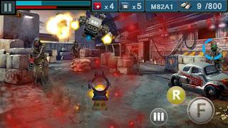 صورة من داخل لعبة Gun & Blood