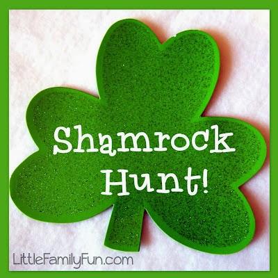 http://www.littlefamilyfun.com/2011/03/shamrock-treasure-hunt.html