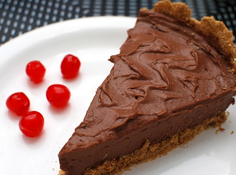 Torta Mousse de Chocolate (vegana)