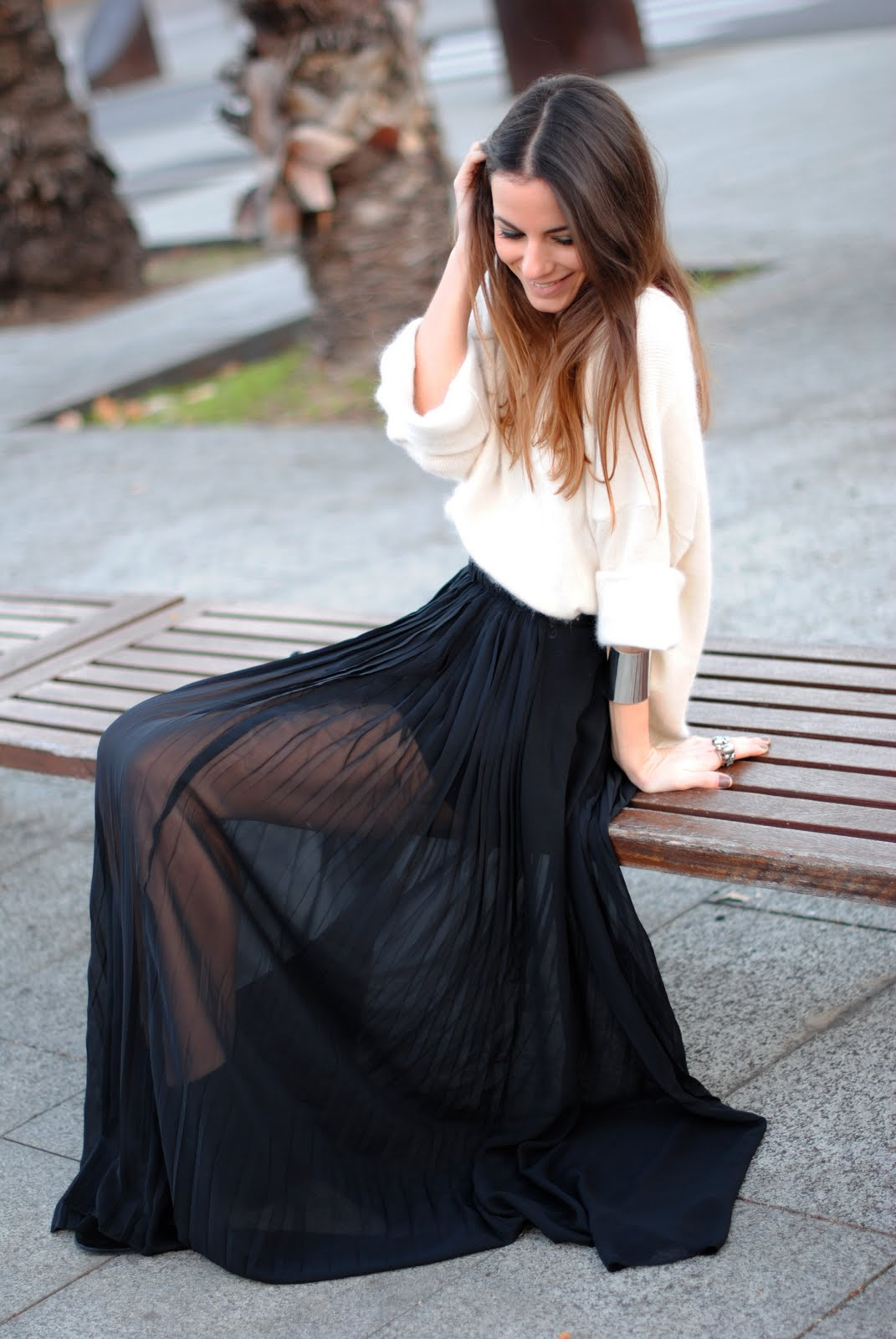Fashion Style Transparent Skirt