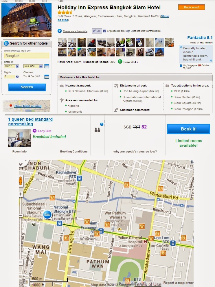 Chatuchak Map - Map of Chatuchak in Bangkok