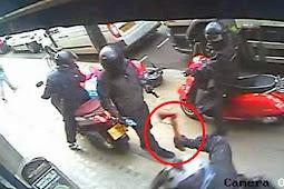 Perampok Memakai Kapak di Inggris Terekam Kamera CCTV