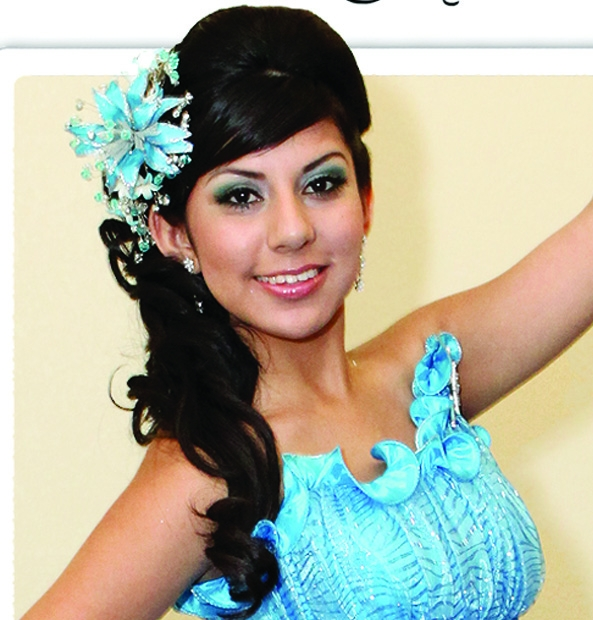 Quince hairstyles to the side
