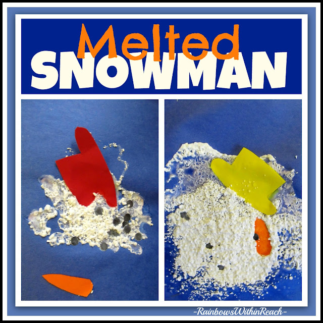 photo of: Melted Snowmen Media Exploration at RainbowsWithinReach
