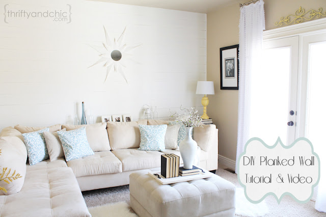 DIY Planked Wall Tutorial