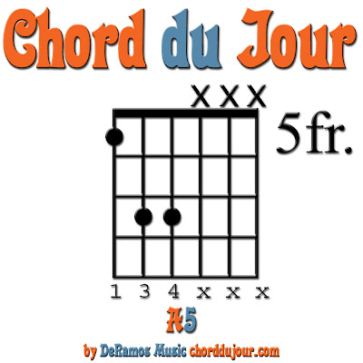 Chord du Jour: NEW! Jam Session 204m + A5 Chord (Guitar)