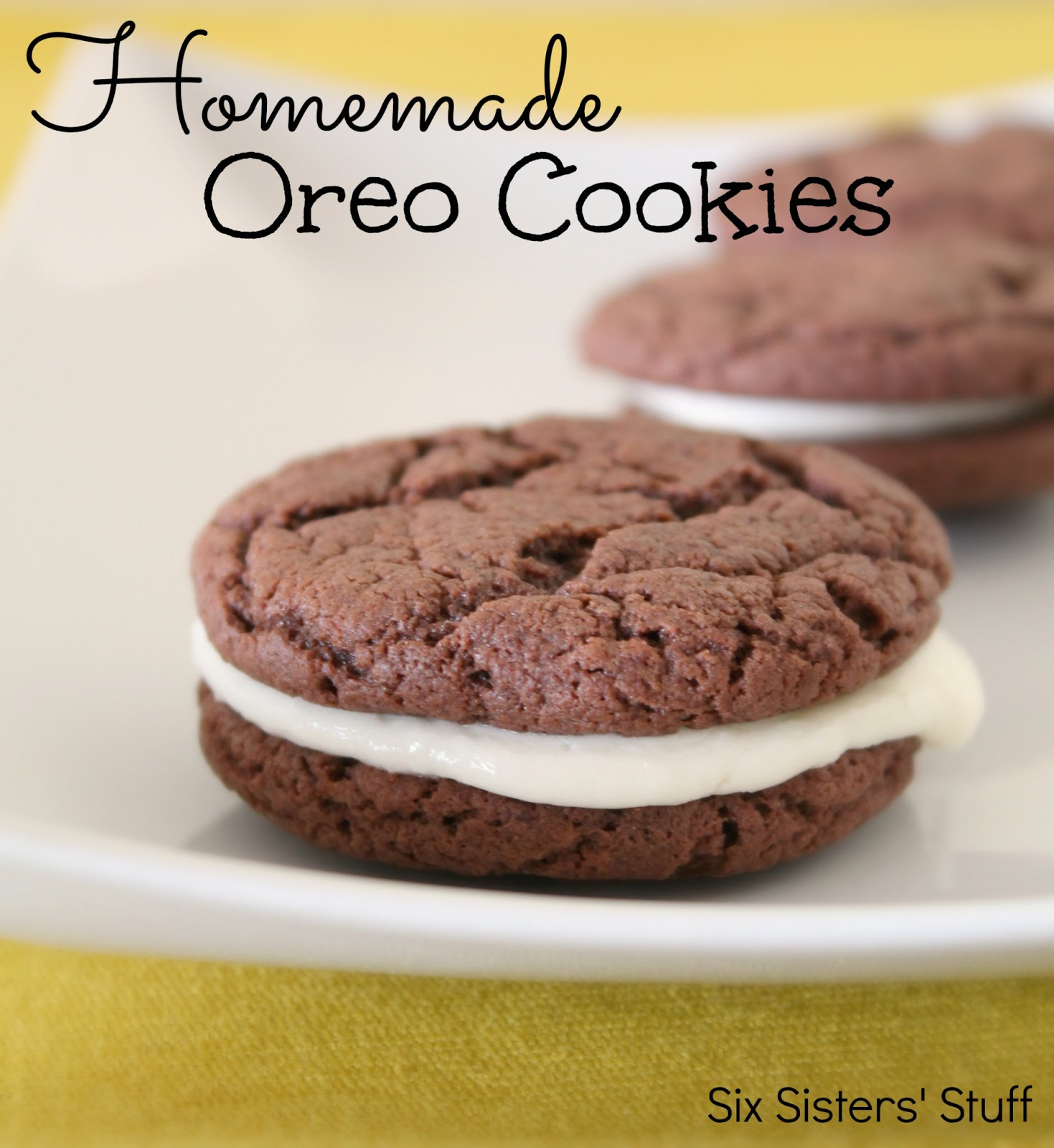 Easy Homemade Oreos Recipe | Six Sisters' Stuff