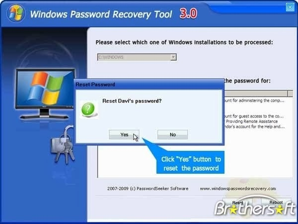 windows 7 password recovery tool crack