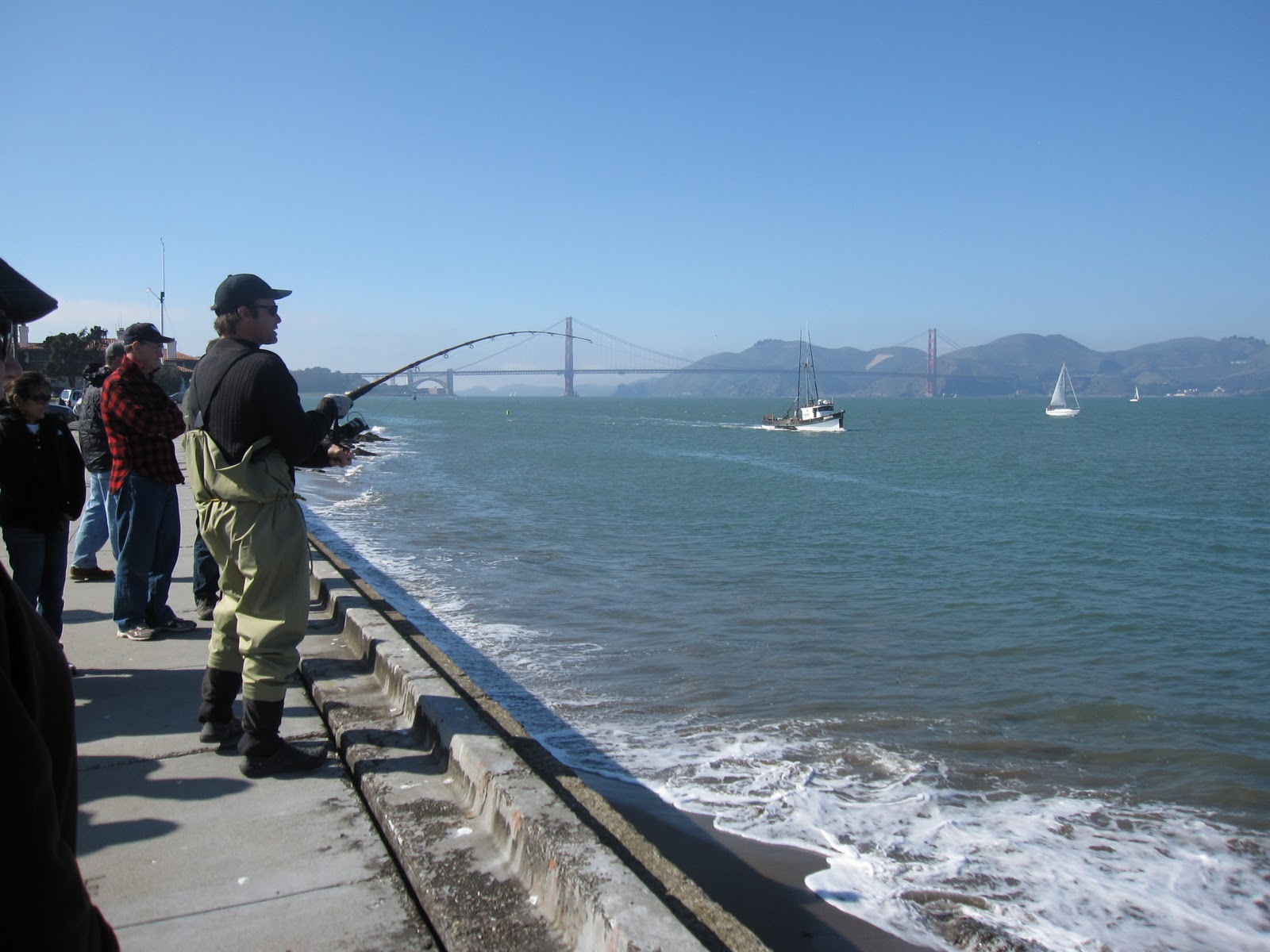 Found fruit san francisco fishing tour for Pacifica pier fishing report