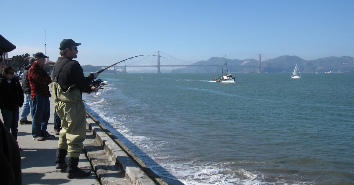 Found fruit san francisco fishing tour for Fishing pole crab trap
