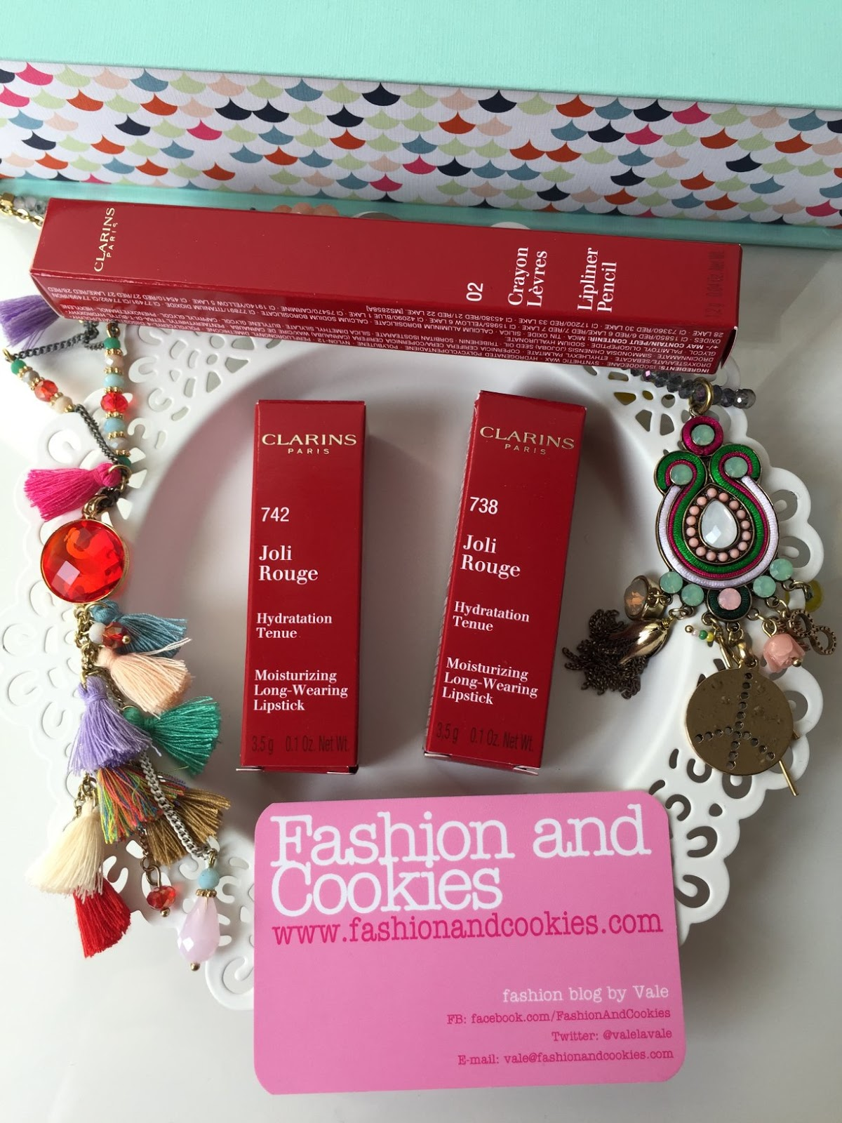 Clarins Joli Rouge lipstick review on Fashion and Cookies beauty blog, beauty blogger from Italy