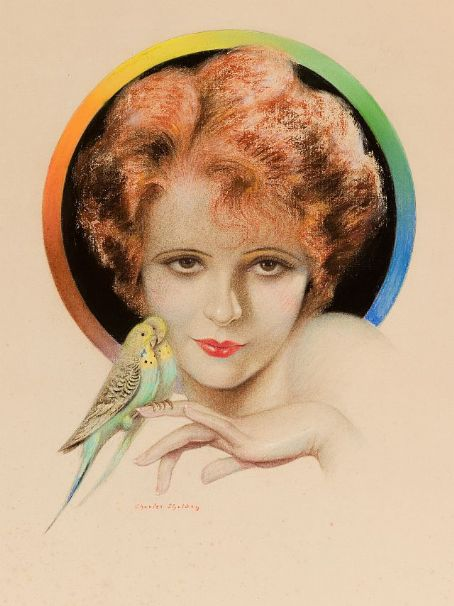clara bow portrait