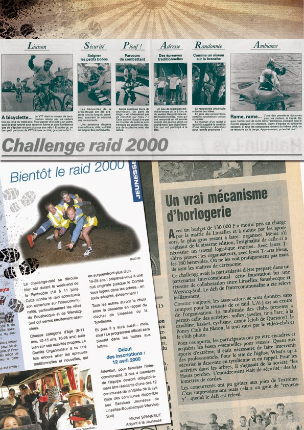 challenge raid vallee de la lys r trospective 2000 et 1999. Black Bedroom Furniture Sets. Home Design Ideas
