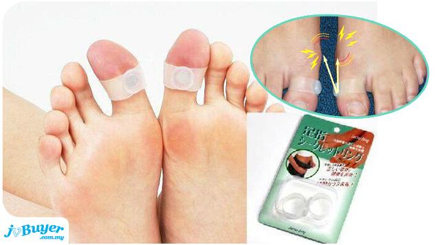 Japanese Weight Loss Magnetic Slimming Toe Rings ~ JvBuyer